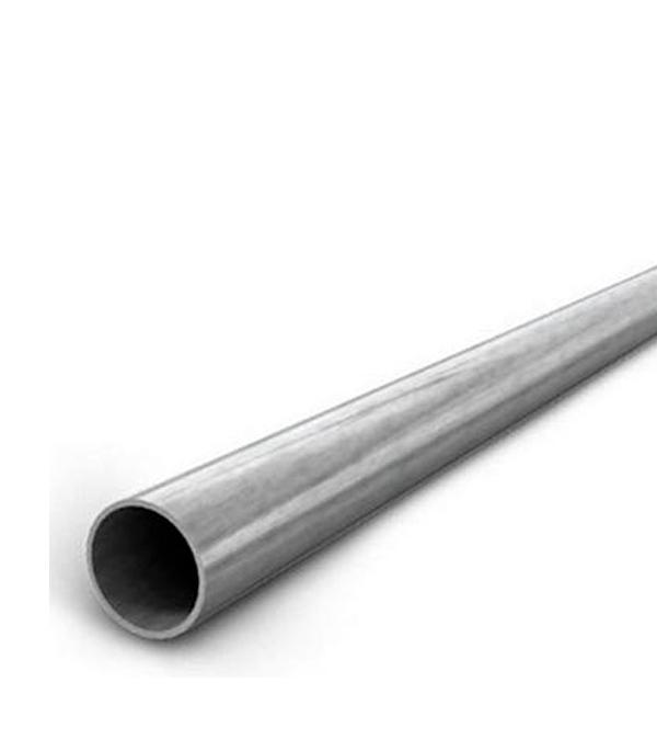 Купить Труба стальная водогазопроводная оцинкованная Ду 40х3.5х3000 мм, Оцинкованная сталь