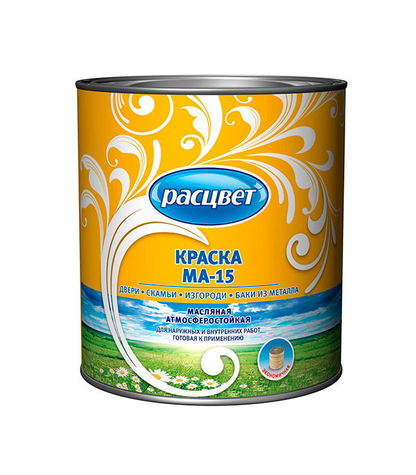 Краска масляная МА-15 Расцвет бежевая 2,7 кг