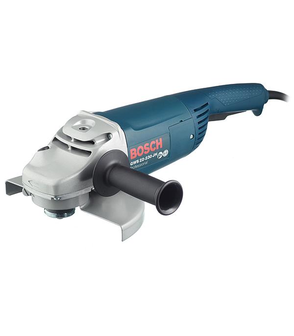 Шлифмашина угловая (УШМ) Bosch GWS 22-230 JH 2200 Вт 230 мм dwt ws24 230 d угловая шлифмашина green
