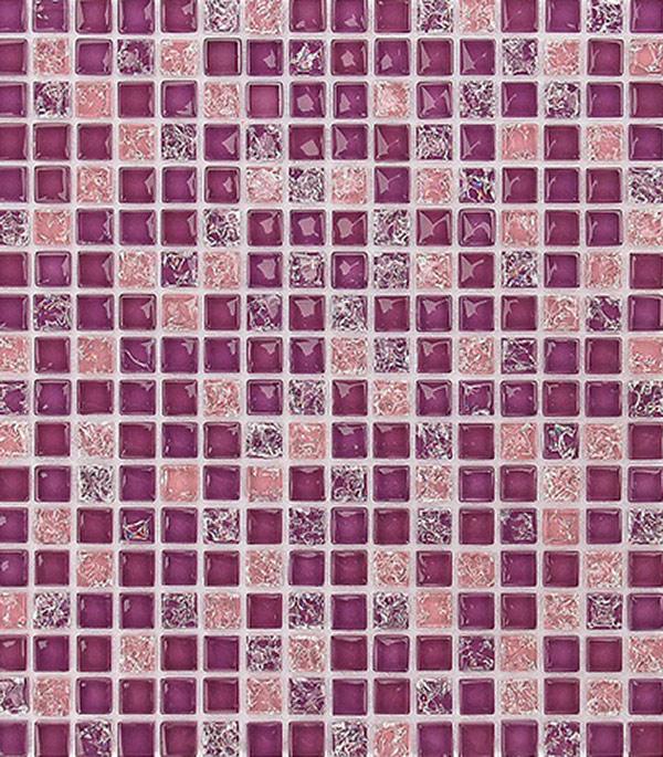 Мозаика из стекла и камня 305x305x8 мм Himalaia