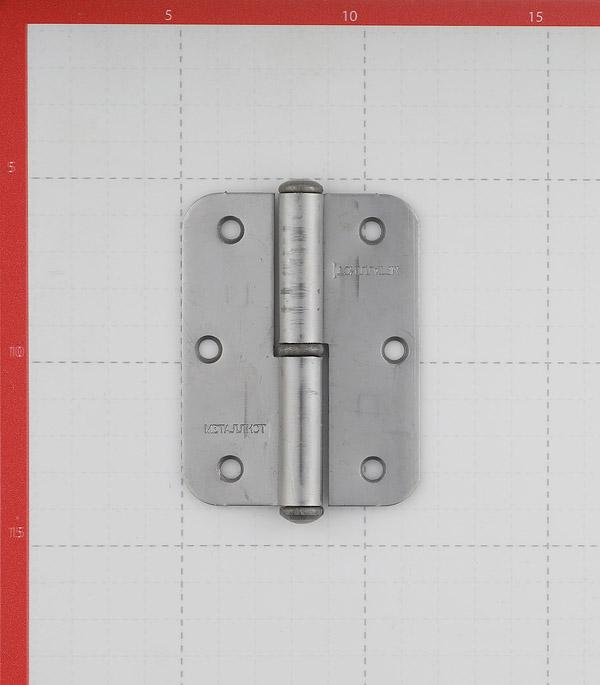 Петля ПН1 правая неразъемная 85х65 мм без покрытия