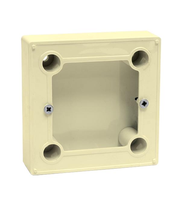 Коробка для о/у терморегуляторов BN-1 бежевая фотообои bn denim 30704 2 79x2 80