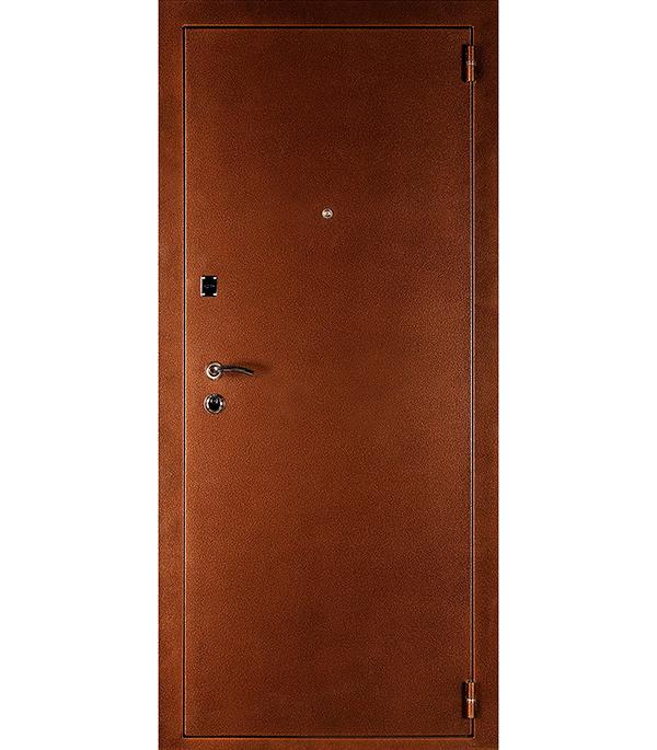Дверь входная ДК Комфорт беленый дуб 860х2050 мм правая