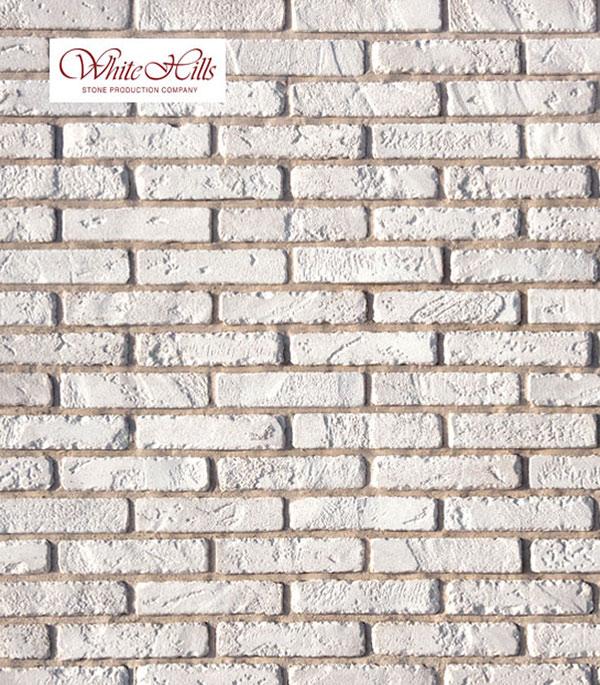 Искусственный камень Monte Alba Йорк Брик белый (84 шт=0.96 кв.м)