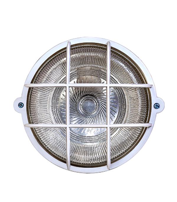 Светильник НПБ IP54 Круг с решеткой влагозащищенный светильник navigator 94 806 nbl r1 100 e27 wh нпб 1101 белый круг 100вт ip54 4607136948068 51024