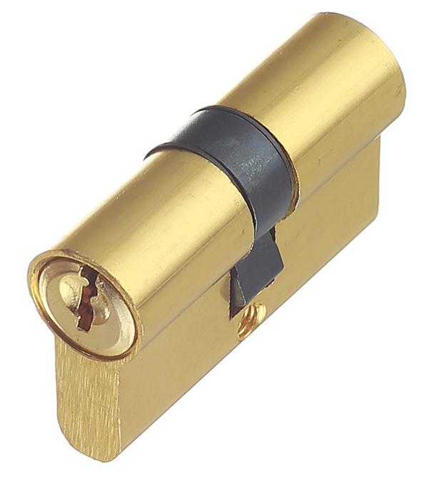 Цилиндровый механизм ФЗ E AL 60 PB латунь цилиндровый механизм фз e al 70 pb латунь