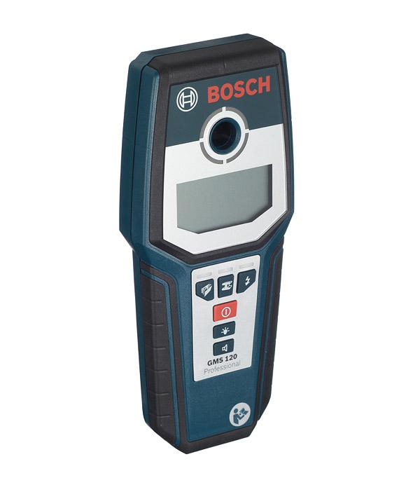 Детектор скрытой проводки Bosch GMS 120 Professional детектор металла bosch gms 120 professional [0601081000]