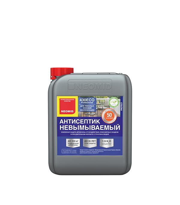Антисептик NEOMID 430 ЕСО невымываемый концентрат 1:9 5 кг антисептик neomid extra eco трудновымываемый 5л