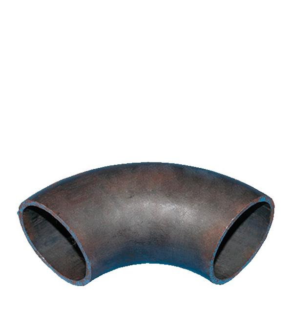 Отвод крутоизогнутый под сварку Ду108 бесшовный кованый стальной черный