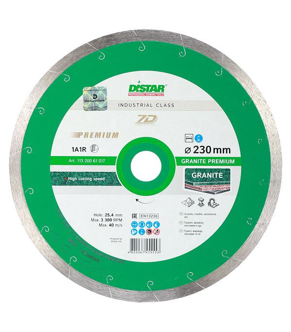 Диск алмазный сплошной по керамограниту DI-STAR 7D 230x25,4 мм диск алмазный сплошной по керамике 150х22 2 мм shaft