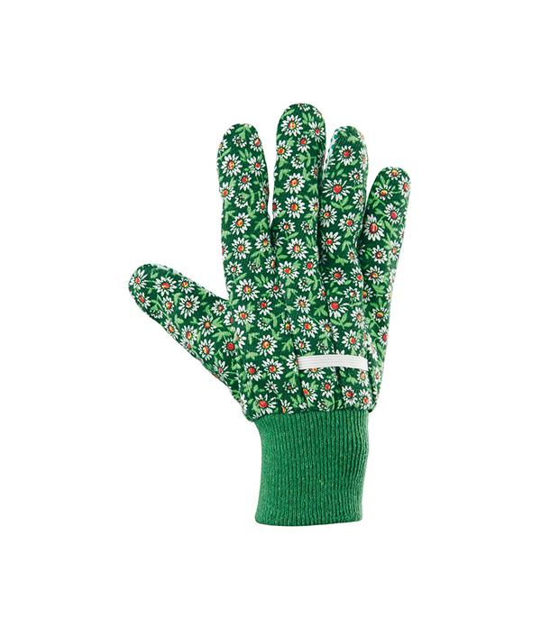 Хлопчатобумажные перчатки Стандарт с ПВХ покрытием манжет резинка размер M хлопчатобумажные перчатки облитые пвх мбс манжета на резинке