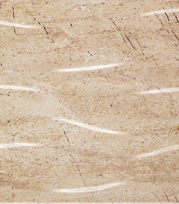 Плитка облицовочная Summer Stone Wave 250х400х8 мм бежевая рельефная (15 шт=1.5 кв.м) random stone spliced ceramic tile sticker 1pc