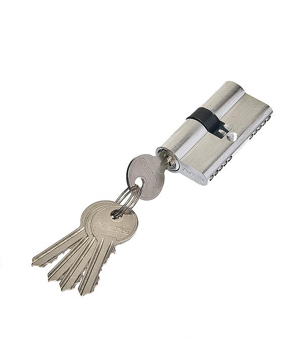 Купить Цилиндр 2018 ключ/ключ 60 мм (хром), Серебро, Сталь с покрытием