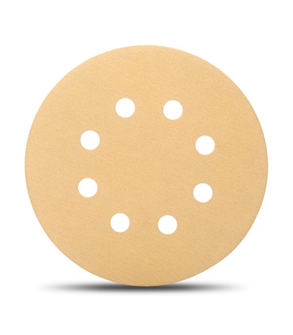 Диск шлифовальный с липучкой Р80 d=125 мм (5 шт) Starcke диск шлифовальный с липучкой р180 d 125 мм перфорированный 5 шт starcke 514
