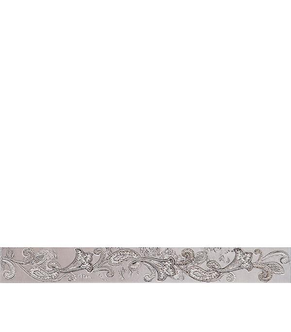 Плитка бордюр 505х62х9 мм Сфумато серый бордюр azori триоль беж ноктюрн 6 2x40 5