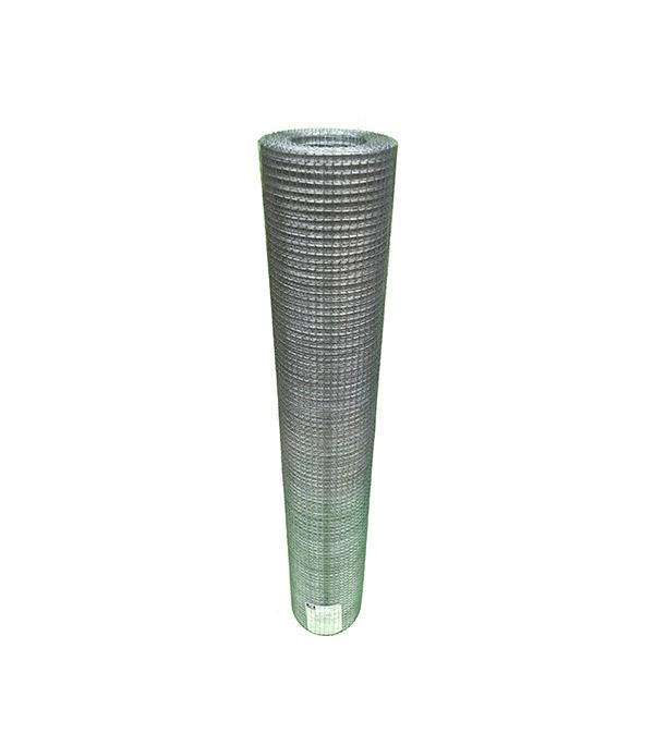 Сетка штукатурная сварная оцинкованная 10х10 мм d0,6 мм 1х15 м рулон сетка штукатурная штрек цпвс ячейка 10х10 мм рулон 10 м