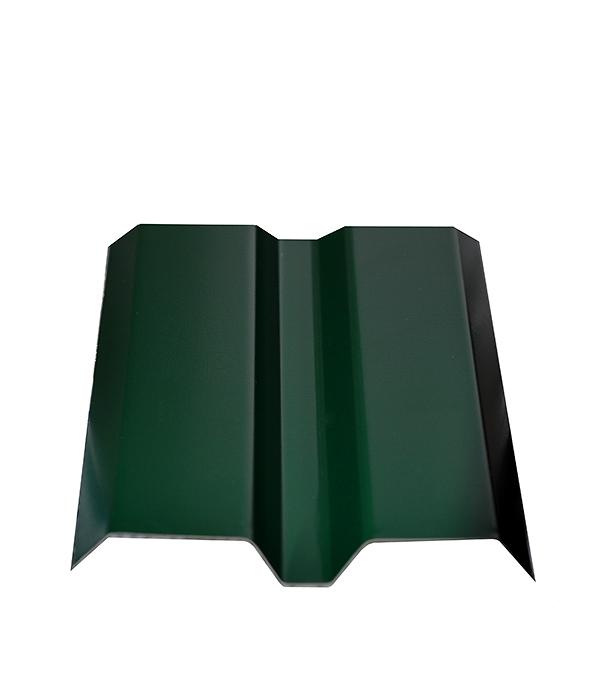 Купить Евроштакетник толщина 0, 4 мм 87х1500 мм зеленый, Зеленый, Сталь