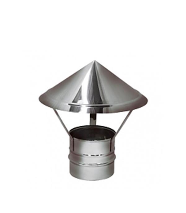 Зонтик 150 без изоляции на расширителе зеркальный 304