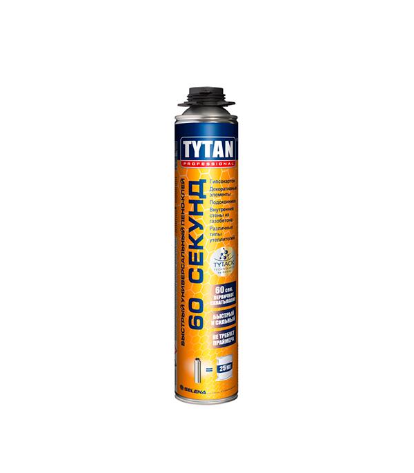 Клей универсальный Tytan Professional 60 секунд 750 мл церезит ct 85 клей для пенополистирола 25 кг