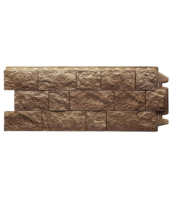 Фасадная панель Docke-R Fels 1050х425 мм ржаная