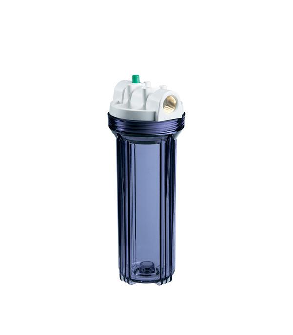 Корпус фильтра для холодной воды 3/4 Гидротек прозрачный 10SL (HCC-10SL) цена