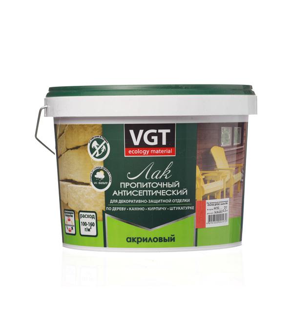 Лак антисептик акриловый VGT красное дерево 2,2 кг