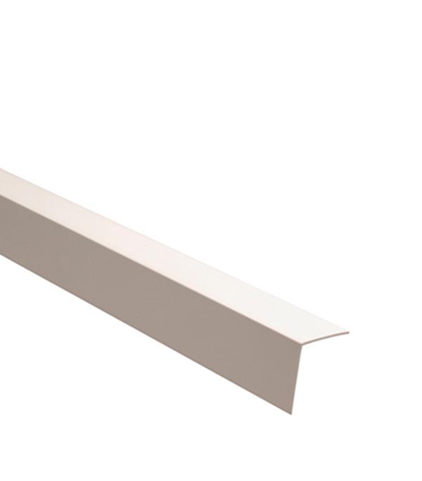 Уголок отделочный пластиковый 40х40х2700 мм белый