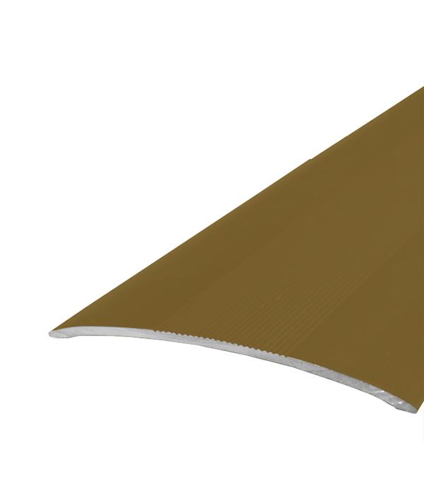 Порог стыкоперекрывающий 60х1800 мм Золото стоимость