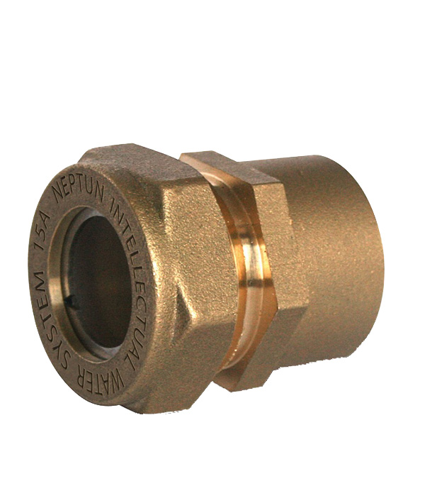 Муфта Neptun IWS EasyFix 32 мм х 1 1/4 ВР(г) для гофрированных труб
