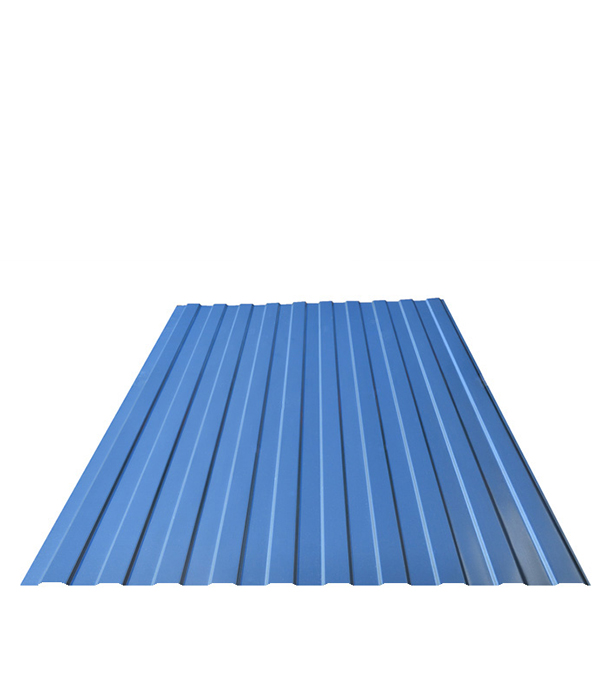 Купить Профнастил С8 синий RAL5005 1.20х2.00 м толщина 0.33 мм, Синий