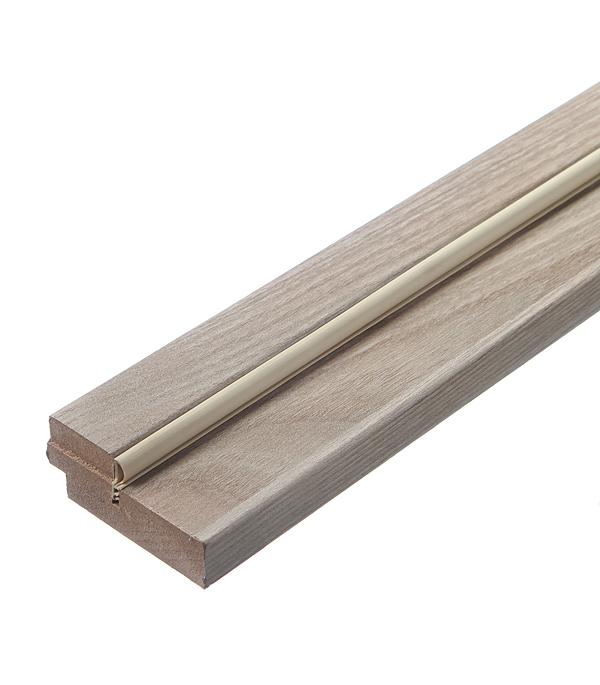 Коробка дверная экошпон Принцип Дуб Эризо 70х2070х28 мм с уплотнителем и пазом под добор чистовье фартук полиэтилен 120 70 см люкс прозрачный 70 шт уп коробка