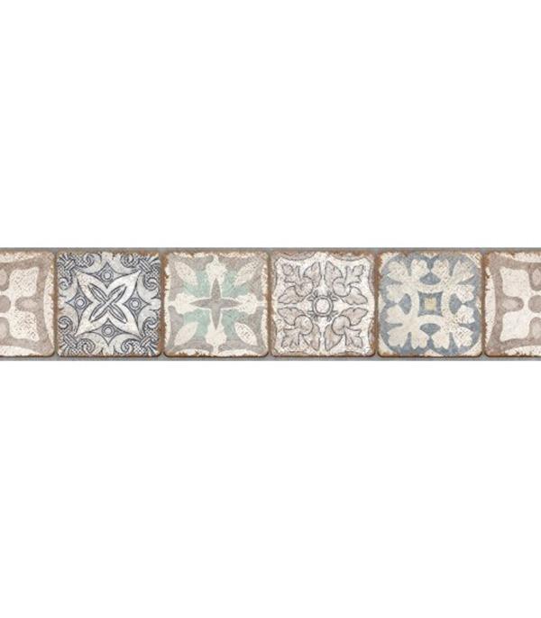 Плитка бордюр Cersanit Majolica многоцветная 600x80x9 мм цены
