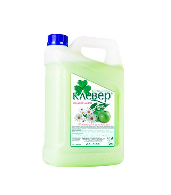 Жидкое мыло Клевер 5 л