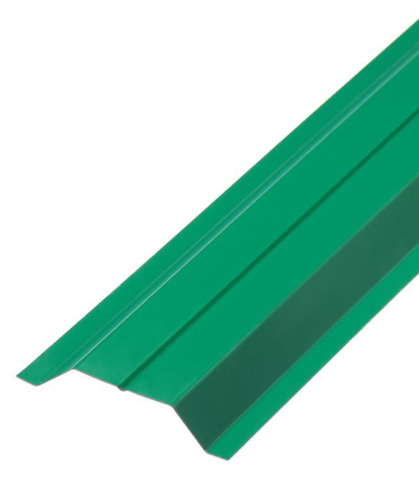 Евроштакетник двухсторонний 0,45 мм 100х2000 мм зеленый RAL 6005