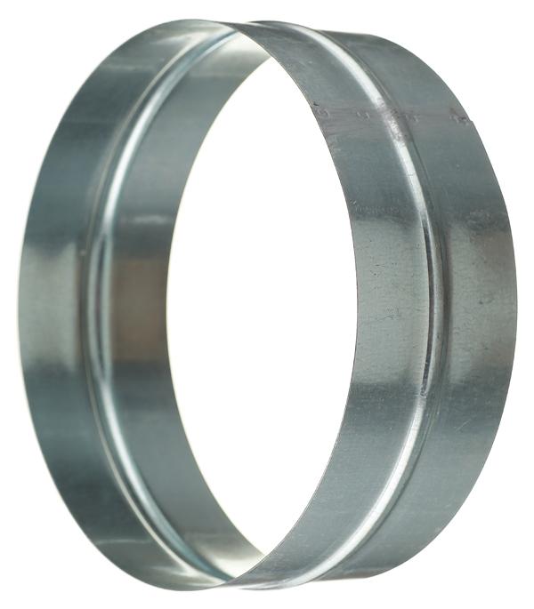 Соединитель для круглых воздуховодов оцинкованный d200 мм врезка оцинкованная для круглых стальных воздуховодов d200х200 мм
