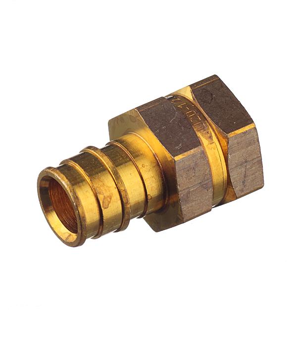 Соединитель прямой Uponor (1023010) 20 мм х 1/2 ВР(г) латунный
