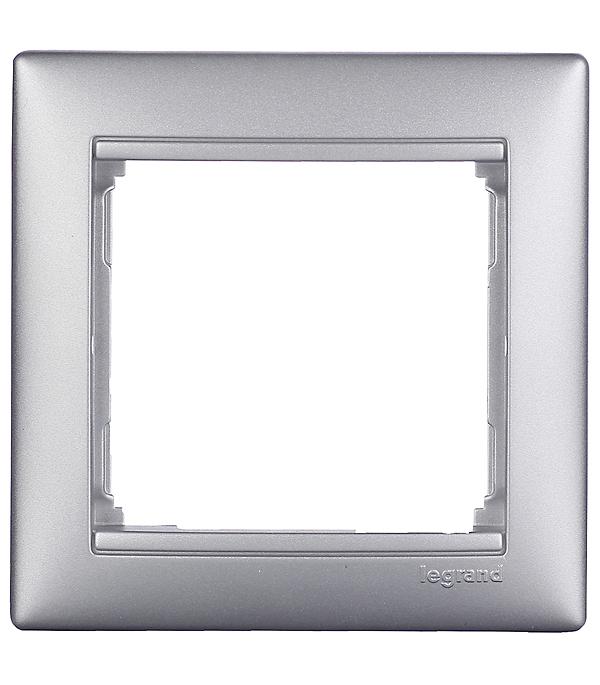 Рамка Legrand Valena 694330 одноместная универсальная алюминий рамка legrand valena одноместная алюминий 770151