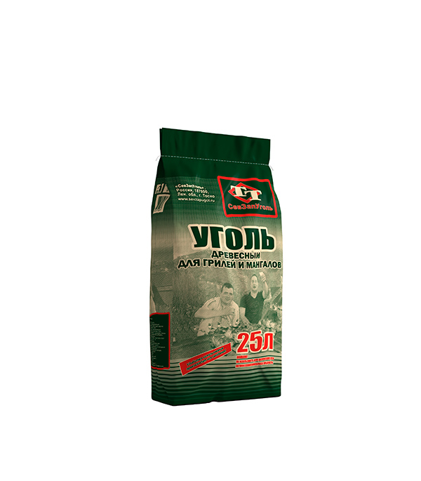 Уголь древесный березовый в крафт-мешке 3,1 кг 25 л цена 2017