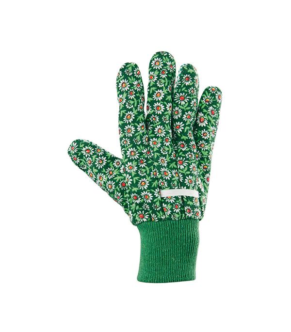 Хлопчатобумажные перчатки Стандарт с ПВХ покрытием манжет резинка размер L хлопчатобумажные перчатки облитые пвх мбс манжета на резинке