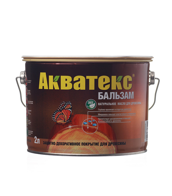 Масло для дерева Акватекс Бальзам лиственница 2 л