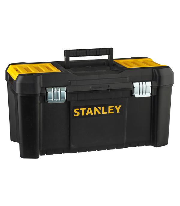 Ящик для инструментов Stanley (STST1-75521) 485х250х250 мм ящик с органайзером stanley stst1 75521 essential toolbox metal latch 48 2x25 4x25 см 19 черный
