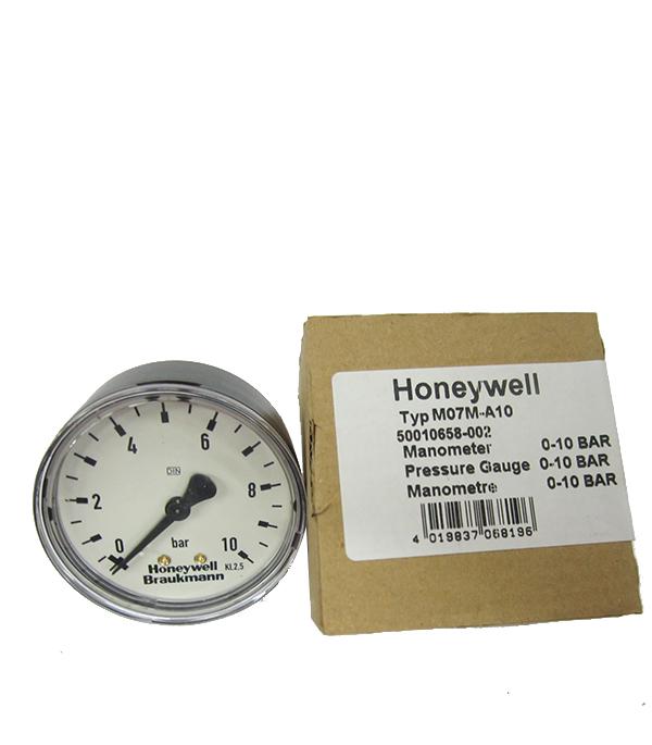 Манометр аксиальный Honeywell M07M-A10 клапан понижения давления honeywell d04fm 3 4 a