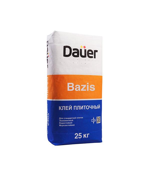 Клей для плитки и керамогранита DAUER BAZIS базовый 25 кг