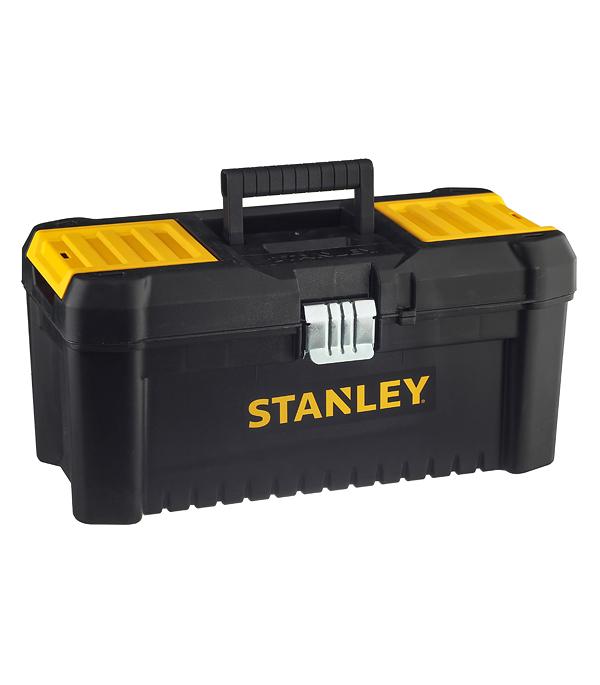 Ящик для инструментов Stanley (STST1-75518) 410х200х195 мм ящик с органайзером stanley stst1 75518 essential toolbox metal latch 41x20x20 см 16 черный