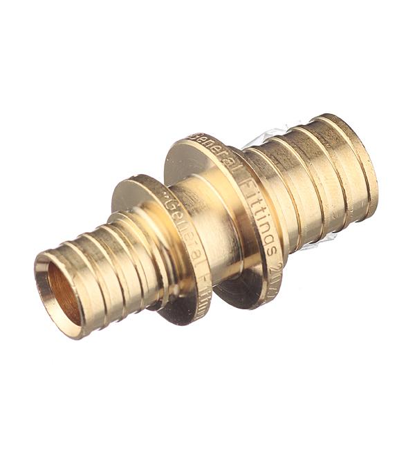 Соединитель Stout (SFA-0004-002016) прямой 20 х 16 мм латунный