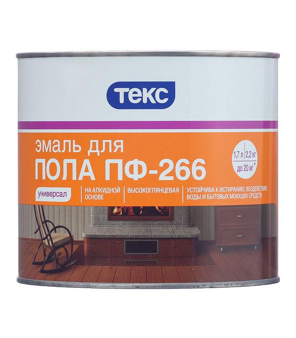 Эмаль ПФ-266 Текс Универсал красно-коричневая 2.2 кг