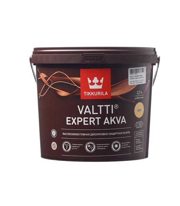 Антисептик Valtti Expert Akva сосна Тиккурила 2,7 л пинотекс classic антисептик дуб 2 7 л
