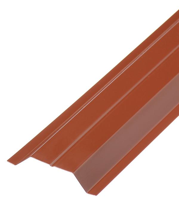 Евроштакетник двухсторонний 0,45 мм 100х2000 мм коричневый RAL 8017