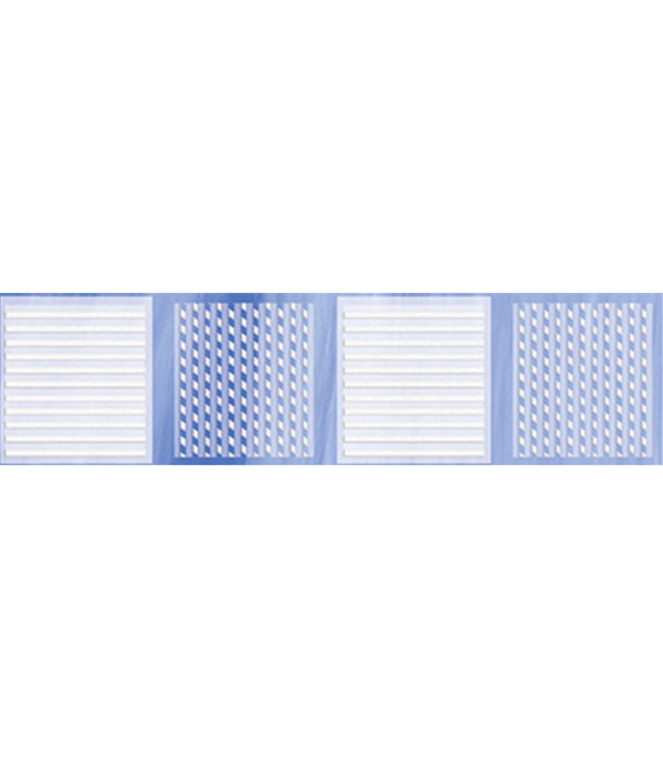 Плитка бордюр Агата B 250х65 мм голубой бордюр peronda darkly listello b 3x33