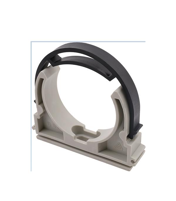 Купить Крепеж полипропиленовой трубы 40 FV-PLAST серый